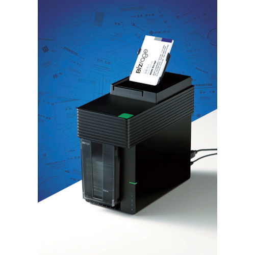 『カード対応OK!』■〒キングジム【DNX100】(4957521) デジタル名刺ボックス「ビズレ-ジ」 受注単位1, BELMANI -ベルト、革小物の専門店-:80bbf625 --- data.gd.no