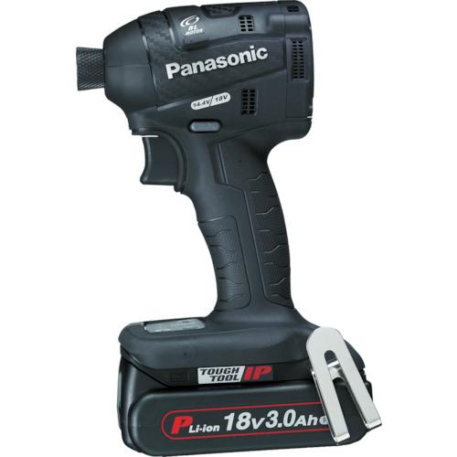■〒パナソニックエコソリューショ/Panasonic 電動工具【EZ75A7PN2G-B】(7771797) 充電インパクトドライバー 18V 3.0Ah 黒 発注単位1