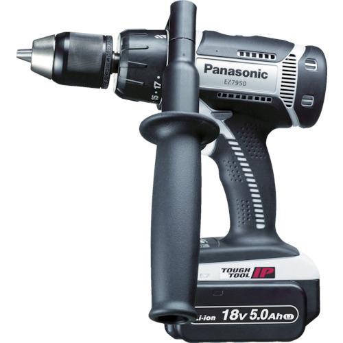 ■〒パナソニックエコソリューショ/Panasonic 電動工具【EZ7950LJ2S-H】(7765622) 充電振動ドリル&ドライバー 18V 5.0Ah 発注単位1