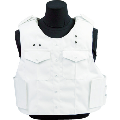■〒U.S. Armor社/【F-309019-WHITE-L】(8557165)Armor Armor アウターキャリア ユニフォームシャツ ホワイト L 受注単位1