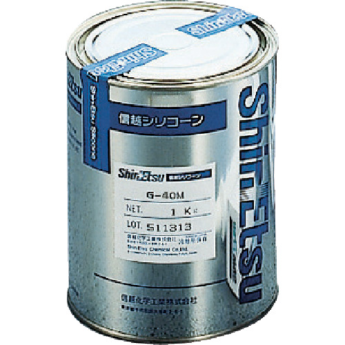 『カード対応OK!』■〒信越化学工業(株)/信越【G40M-1】(4920899)シリコーングリース 1kg M 受注単位1