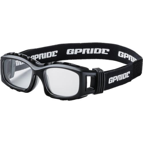 ####■〒GLASSART/EYE-GLOVE メガネ【GP-94M-BK-M】(8557243)二眼型安全ゴーグル ブラック+度付レンズセット(マルチコート 受注単位1