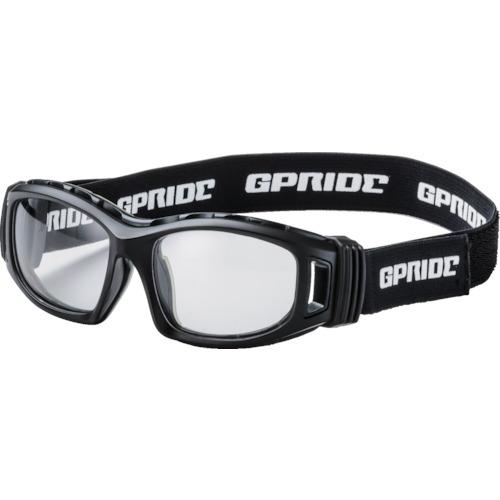 ■〒GLASSART/EYE-GLOVE メガネ【GP-98-BK】(8557250)二眼型セーフティゴーグル ブラック (度なしレンズ)受注単位1