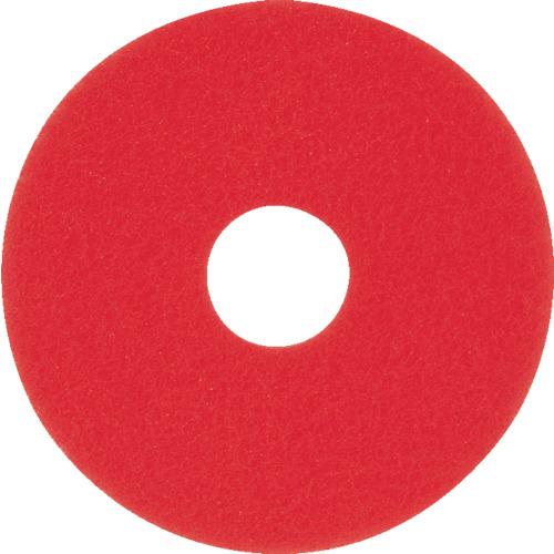 『カード対応OK!』■〒アマノ【HEC801500】(4961552) フロアパッド13 赤 受注単位5