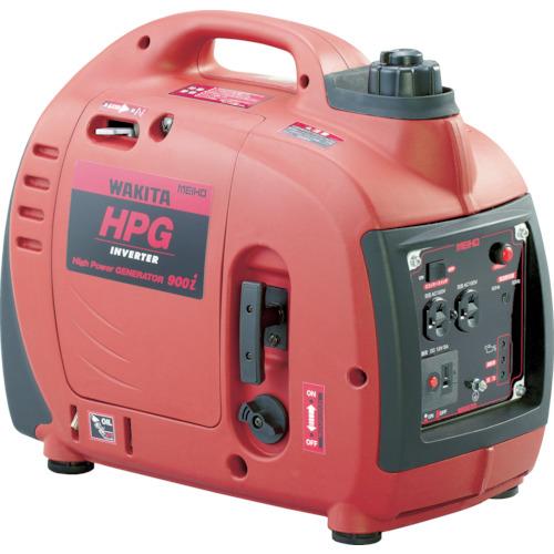 『カード対応OK!』■〒ワキタ/MEIHO【HPG900I】(7517378) エンジン発電機 HPG-900I 受注単位1