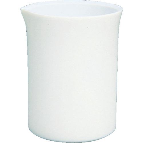 専門店では ?〒フロンケミカル/フロンケミカル 5L 発注単位1:クローバー資材館 フロンケミカル フッ素樹脂(PTFE) ビーカー 研究用品【NR0201-010】(4657411)-DIY・工具