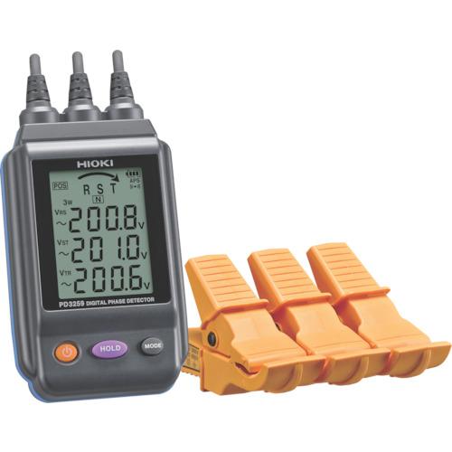 ■〒日置電機/HIOKI 測定器(S)【PD3259】(8183844) HIOKI 電圧計付検相器 発注単位1