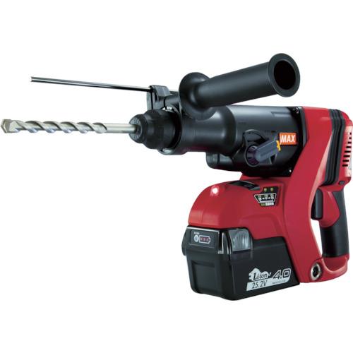 ■〒マックス/MAX 電動工具【PJ-R266-B2C40A】(7832907) MAX 25.2V充電式ブラシレスハンマドリル 4.0Ah 発注単位1