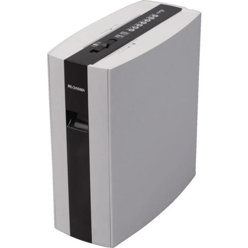 ■〒アイリスオーヤマ/IRIS オフィス用品【PS5HMSD-WH】(7921349) IRIS 細密シュレッダー ホワイト 発注単位1