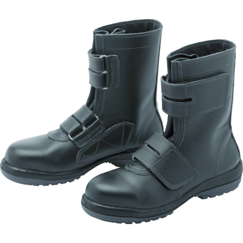 ■〒ミドリ安全/ミドリ安全【RT735-25.5】(8112250)ラバーテック安全靴 長編上マジックタイプ 受注単位1