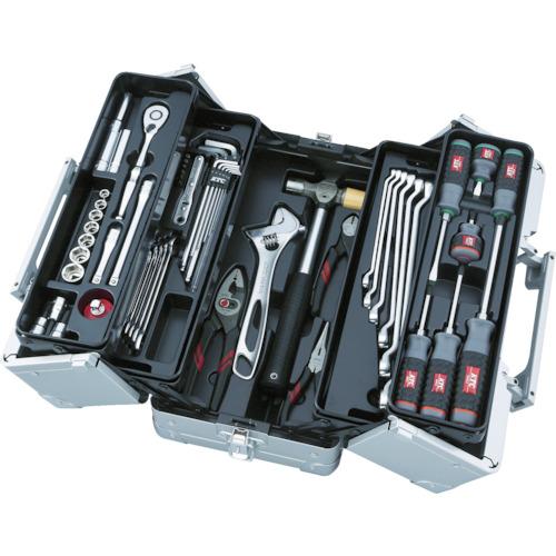 ■〒京都機械工具/KTC【SK3561W】(8594188)工具セット(両開きメタルケ-スタイプ)受注単位1