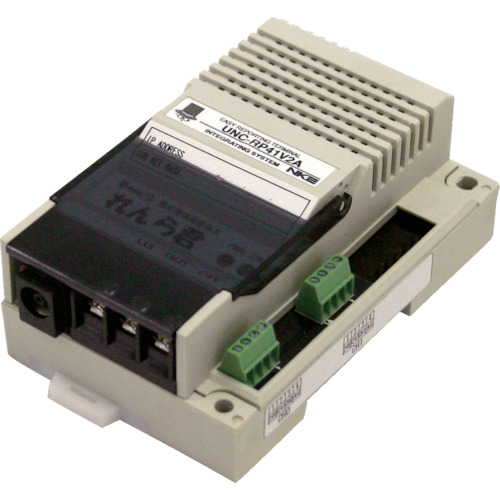 ■〒NKE/NKE【UNC-RP41A1】(8561557)れんら君 アナログタイプ 電流入力0-20mA 受注単位1