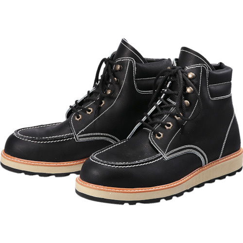■〒青木産業/青木安全靴【US-200BK-23.5】(8559165)US-200BK 23.5cm 受注単位1