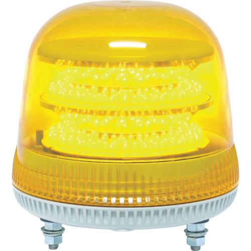 ■〒日惠製作所/NIKKEI 回転灯【VL17M-100APY】(8183308) NIKKEI ニコモア VL17R型 LED回転灯 170パイ 黄 発注単位1