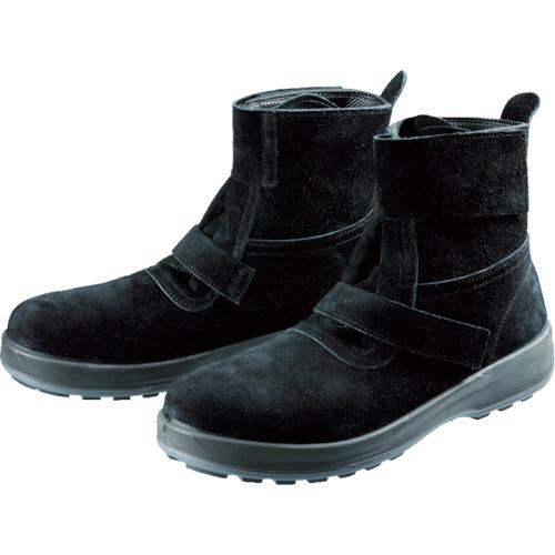 ■〒シモン/シモン 靴【WS28BKT-23.5】(7847629) シモン 安全靴 WS28黒床 23.5cm 発注単位1