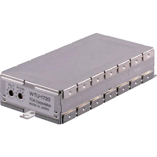 『カード対応OK!』##■〒TOA(株)/TOA 【WTU-1720】(4438680)ワイヤレスチューナーユニット(シングル) 受注単位1
