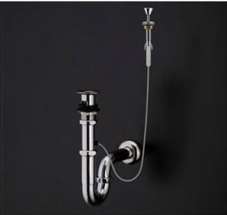 『カード対応OK!』TOTO 洗面器用排水金具【T7SW8】ワンプッシュ式専用排水金具 押しボタン付・Sトラップ