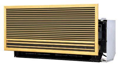 ##『カード対応OK!』ダイキン ハウジングエアコン【S28RMV】壁埋込型 R32採用 10畳程度 前面パネル別売 単相200V(旧品番S28NMV)