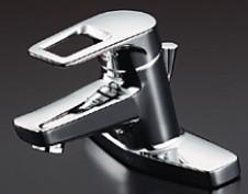 ☆☆TL430R ###TOTO 再入荷 予約販売 買物 ユーティリティ用水栓金具 TL430R 湯側角度規制付き 台付シングル混合水栓 受注約2週 旧品番 TL430