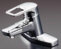 TOTO 洗面所用水栓金具【TLHG30DQES】台付シングル混合水栓 (台付き2穴) スパウト120mm (旧品番 TLHG30DQER)