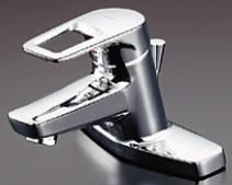 《あす楽》◆15時迄出荷OK!TOTO 洗面所用水栓金具【TLHG30ES】台付シングル混合水栓 (台付き2穴) スパウト120mm (旧品番 TLHG30ER)