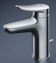 《あす楽》◆15時迄出荷OK!TOTO 洗面所用水栓金具【TLS04302JA】台付シングル混合水栓 (台付き1穴) スパウト95mm 一般地・寒冷地共用 (旧品番 TLS04302J)