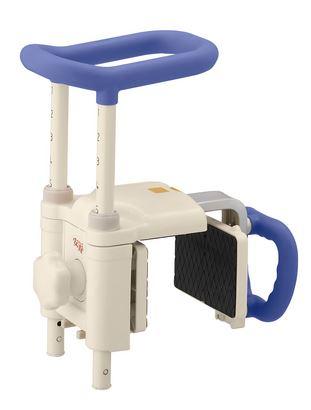 ###アロン化成 安寿【536-615】浴槽用手すり 高さ調節付浴槽手すり UST-200N ブルー