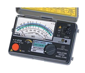 Я共立電気計器/KYORITSU【3144A】アナログ2レンジ絶縁抵抗計