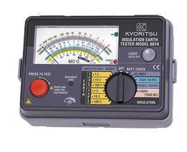 Я共立電気計器/KYORITSU【6018】アナログ式絶縁/接地抵抗計
