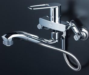 KVK キッチン【FSK110KSFTT】シングルレバー式シャワー付混合栓