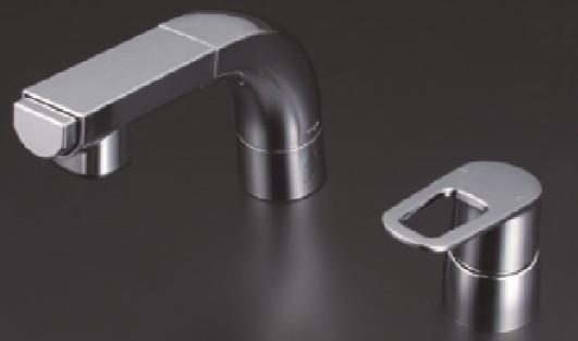 KVK 洗面化粧室【FSL120DZKCT】シングルレバー式洗髪シャワー ※寒冷地用