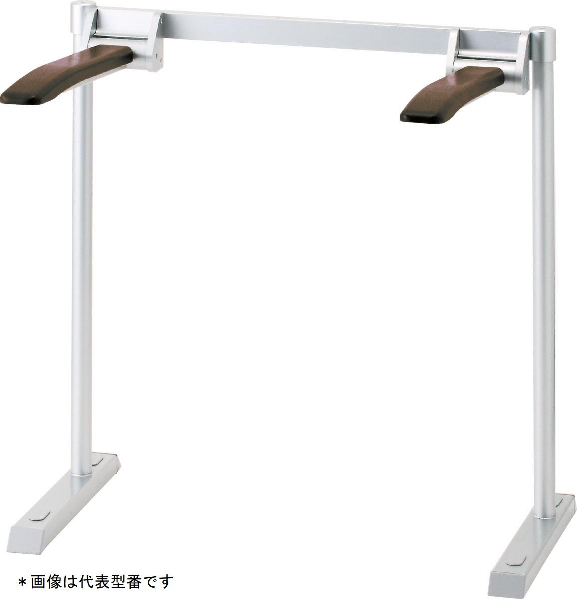 INAX/LIXIL【KFC-292KN】肘掛け手すり(床付式・背もたれなし)天然木タイプ パブリック用