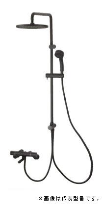 三栄水栓/SANEI 水栓金具【SK18520-2S3-MDP-13】サーモシャワー混合栓URBANTOWER マットブラック