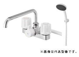 三栄水栓/SANEI 水栓金具【SK710S5K-13】ツーバルブデッキシャワー混合栓 寒冷地用