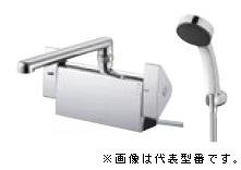 三栄水栓/SANEI 水栓金具【SK781R-2-S9L24】サーモデッキシャワー混合栓