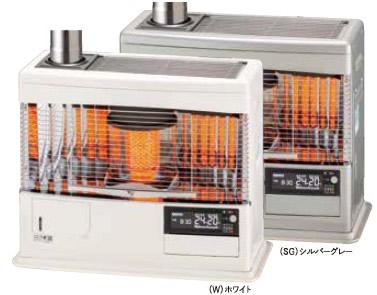 ###サンポット 石油暖房機【UFH-7732UKC S】煙突式・床暖内臓 石油 暖房機カベック kabec 木造20畳 2wayタイマー ヒートサイクル床暖房