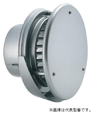 バクマ工業【KW-250G】丸型防風板付換気口 水切り付タイプ シルバーメタリックライト