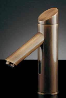 カクダイ【713-320-AB】センサー水栓(オールドブラス)