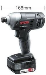 RYOBI/リョービ/京セラ【BID-1415】(657700A)充電式インパクトドライバ 14.4V 1500mAh容量Li-ion電池