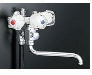 ▽πINAX 浴室用水栓金具【BF-612-G】Gハンドル 逆止弁付太陽熱温水器用シャワーバス水栓 スプレーシャワー