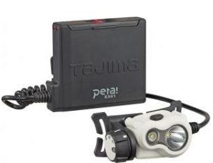 『カード対応OK!』■R.タジマツール【LE-E301-W】ペタ充電LEDヘッドライト 白