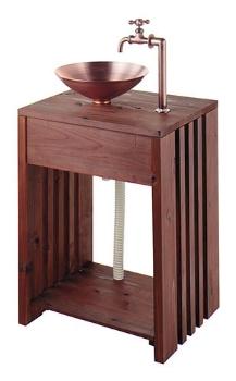 カクダイ【624-982】木製ガーデンシンク