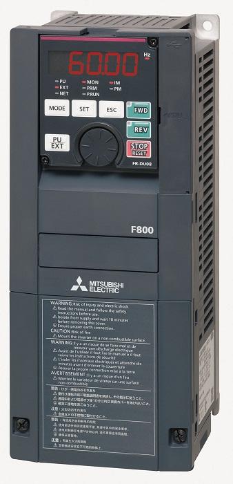三菱【FR-F820-3.7K-1】ファン・ポンプ用インバータ FREQROL-F800シリーズ 三相200V 3.7kW