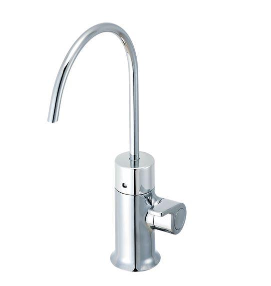 ▽INAX/LIXIL 浄水器専用水栓(ビルトイン型)【JF-WA501(JW)】吐水口長さ142mm 呼び径13mm