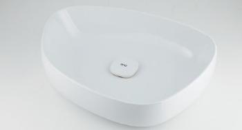 【当店限定販売】 カクダイ【#LY-493210】洗面器//ホワイト:クローバー資材館-DIY・工具