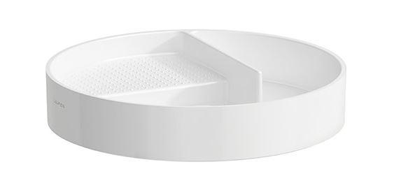 高い素材 CERA/セラ【AU70281】トレイ(丸型) ホワイト バル, プルミエ 43c43c20