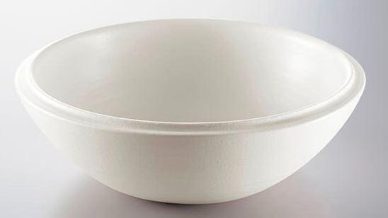 CERA/セラ 手洗器【CEV500-WM】(手洗器本体のみ) φ270 白マット釉 ベルニカ