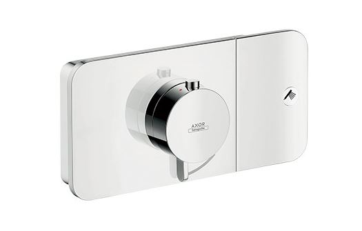 CERA/セラ【HG45711】サーモスタット式埋込形湯水混合栓カバー部(止水機能付) クロム アクサーワン