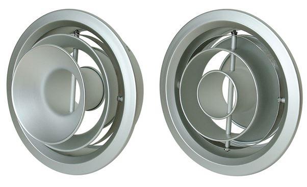 西邦工業/SEIHO【NX14】空調用吹出口 アルミニウム制リバーシブルターボノズル
