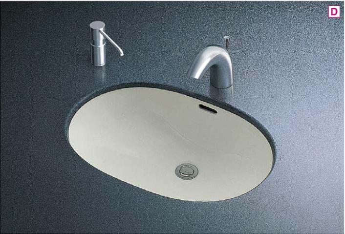 ###TOTO カウンター式洗面器 セット品番【L546U+TENA41A】アンダーカウンター式 台付自動水栓(単水栓) 壁排水金具(Pトラップ)